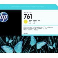 HP No. 761 Ink Cartridge - Yellow - 400ml