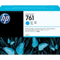 HP No. 761 Ink Cartridge - Cyan - 400ml