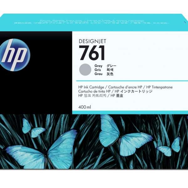HP No. 761 Ink Cartridge - Grey - 400ml
