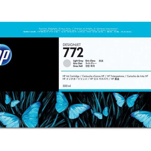 HP No. 772 Ink Cartridge Light Grey - 300ml