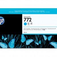 HP No. 772 Ink Cartridge Cyan - 300ml