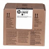 HP LX610 Black Latex ink 3000ml