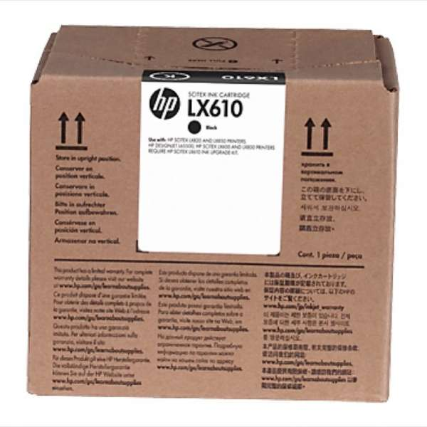 HP LX610 Black Latex ink 3000ml