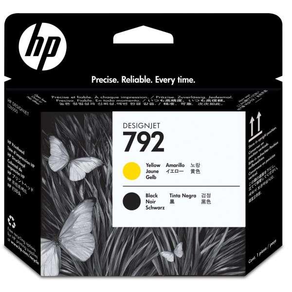 HP No. 792 Yellow & Black Printhead