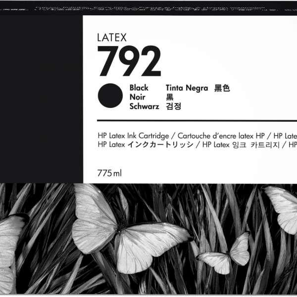 HP No. 792 Latex Ink Cartridge 775ml Black
