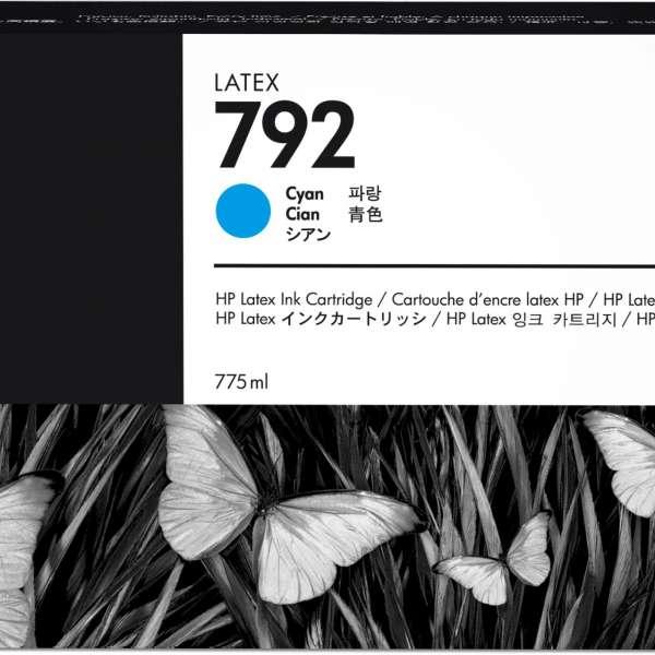 HP No. 792 Latex Ink Cartridge 775ml Cyan