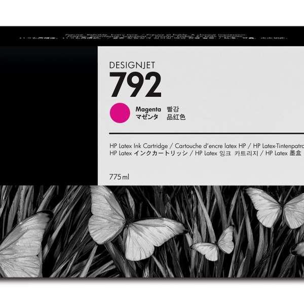 HP No. 792 Latex Ink Cartridge 775ml Magenta