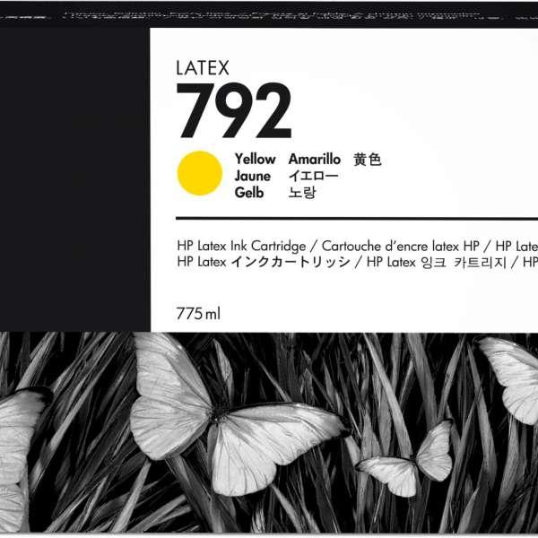 HP No. 792 Latex Ink Cartridge 775ml Yellow