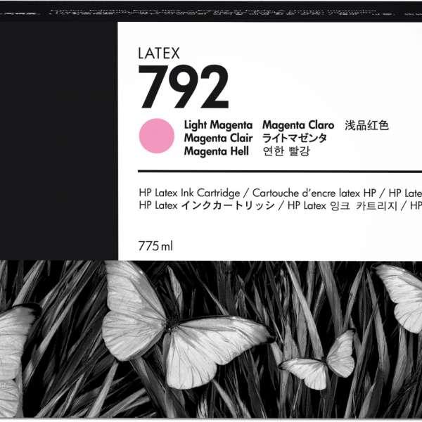 HP No. 792 Latex Ink Cartridge 775ml Light Magenta