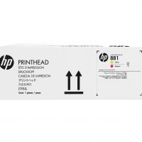 HP No. 881 Yellow and Magenta Printhead