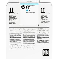 HP No. 881 Latex Ink Cartridge Cyan - 5000ml