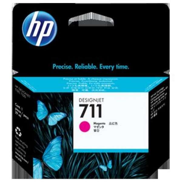 HP No. 711 Magenta Ink Cartridge - 29ml
