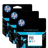 HP No. 711 Triple pack Cyan  - 29ml