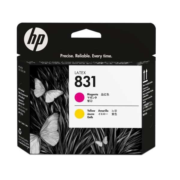 HP No. 831 Yellow and Magenta Printhead