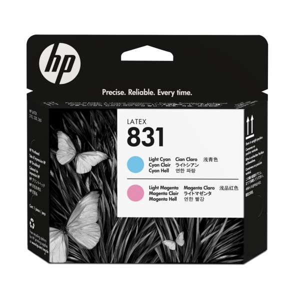 HP No. 831 Light Magenta and Light Cyan Printhead