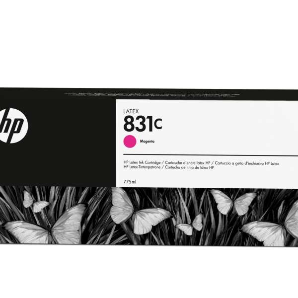 HP No. 831C Latex Ink Cartridge Magenta - 775ml