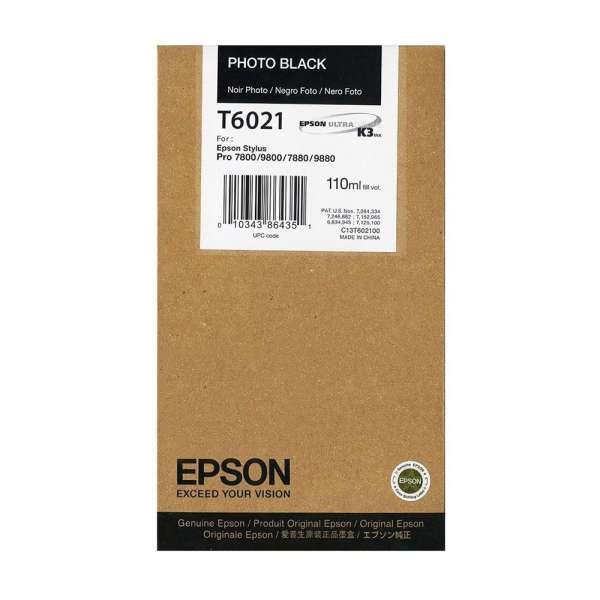 Epson Photo Black Ink Cartridge 110ml