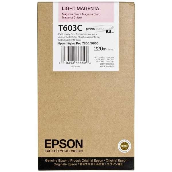 Epson Light Magenta Ink Cartridge 220ml