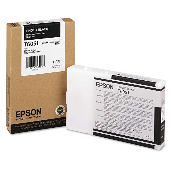 Epson Photo Black Ink Cartridge 110ml