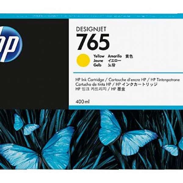 HP No. 765 Ink Cartridge - Yellow - 400ml