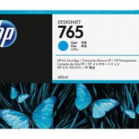 HP No. 765 Ink Cartridge - Cyan - 400ml