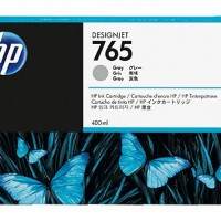 HP No. 765 Ink Cartridge - Grey - 400ml