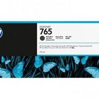 HP No. 765 Ink Cartridge - Matte Black - 775ml
