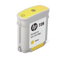 HP No. 728 Ink Cartridge Yellow - 40ml