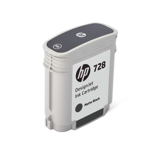 HP No. 728 Ink Cartridge Matte Black - 69ml