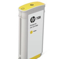 HP No. 728 Ink Cartridge Yellow - 130ml