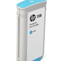 HP No. 728 Ink Cartridge Magenta - 130ml