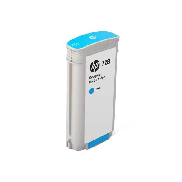HP No. 728 Ink Cartridge Cyan - 130ml
