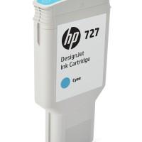 HP No. 727 Ink Cartridge Cyan - 300ml