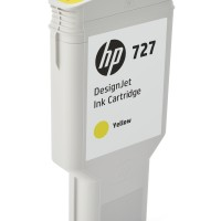 HP No. 727 Ink Cartridge Yellow - 300ml