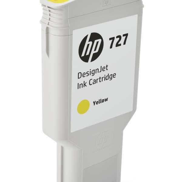 HP No. 727 Ink Cartridge Yellow - 300ml