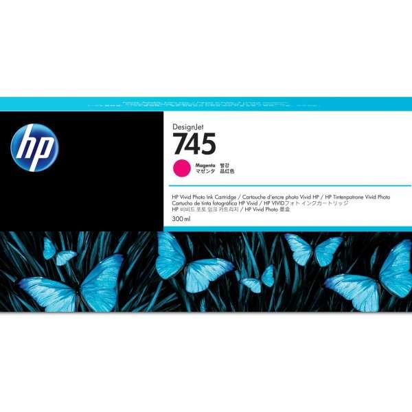HP No. 745 Ink Cartridge Magenta - 300ml