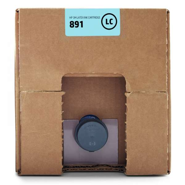 HP No. 891 Latex Ink Cartridge Light Cyan 10,000ml
