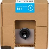 HP No. 871C Latex Ink Cartridge Cyan- 3000ml