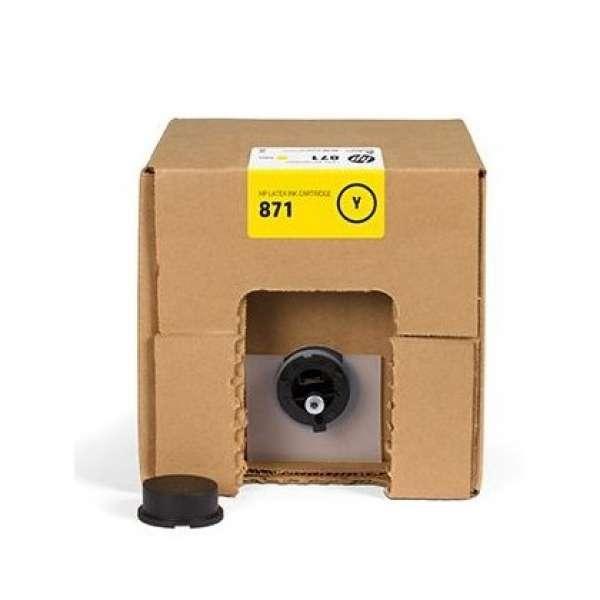 HP No. 871C Latex Ink Cartridge Yellow- 3000ml