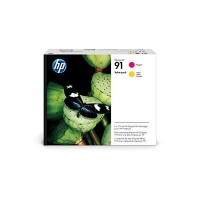 HP No. 91 Value Pack - Magenta & Yellow