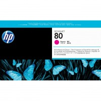 HP No. 80 Ink Printhead and Cleaner - Magenta