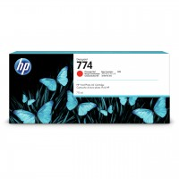 HP No. 774 Ink Cartridge Chromatic Red - 775ml