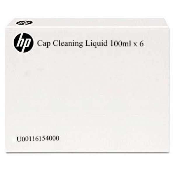 HP Cap Cleaning Liquid 100ml x 6