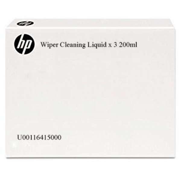 HP Wiper Cleaning Liquid tripple pack 200ml