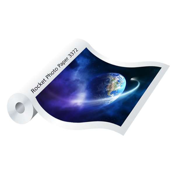 Rocket Photo Paper PE 250gsm - Satin 610mm x 45m