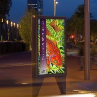 Sihl Backlit Film Frontprint WR 215mic Matt 1270mm x 30m