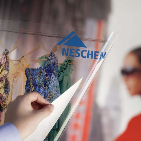 Neschen Solvoprint Window Grip Ultra Clear 1372mm x 50m
