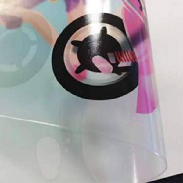 Gloss OPP Clear PVC Lamination Film/Dry Wipe 1040mm x 100m