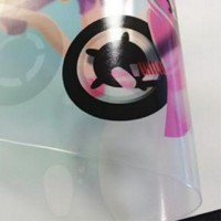 Gloss OPP Clear PVC Lamination Film/Dry Wipe 1300mm x 100m