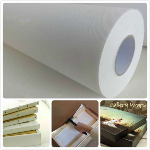Production Polyester Canvas 260gsm 610mm x 30m